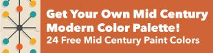 Mid Century Modern Color Scheme