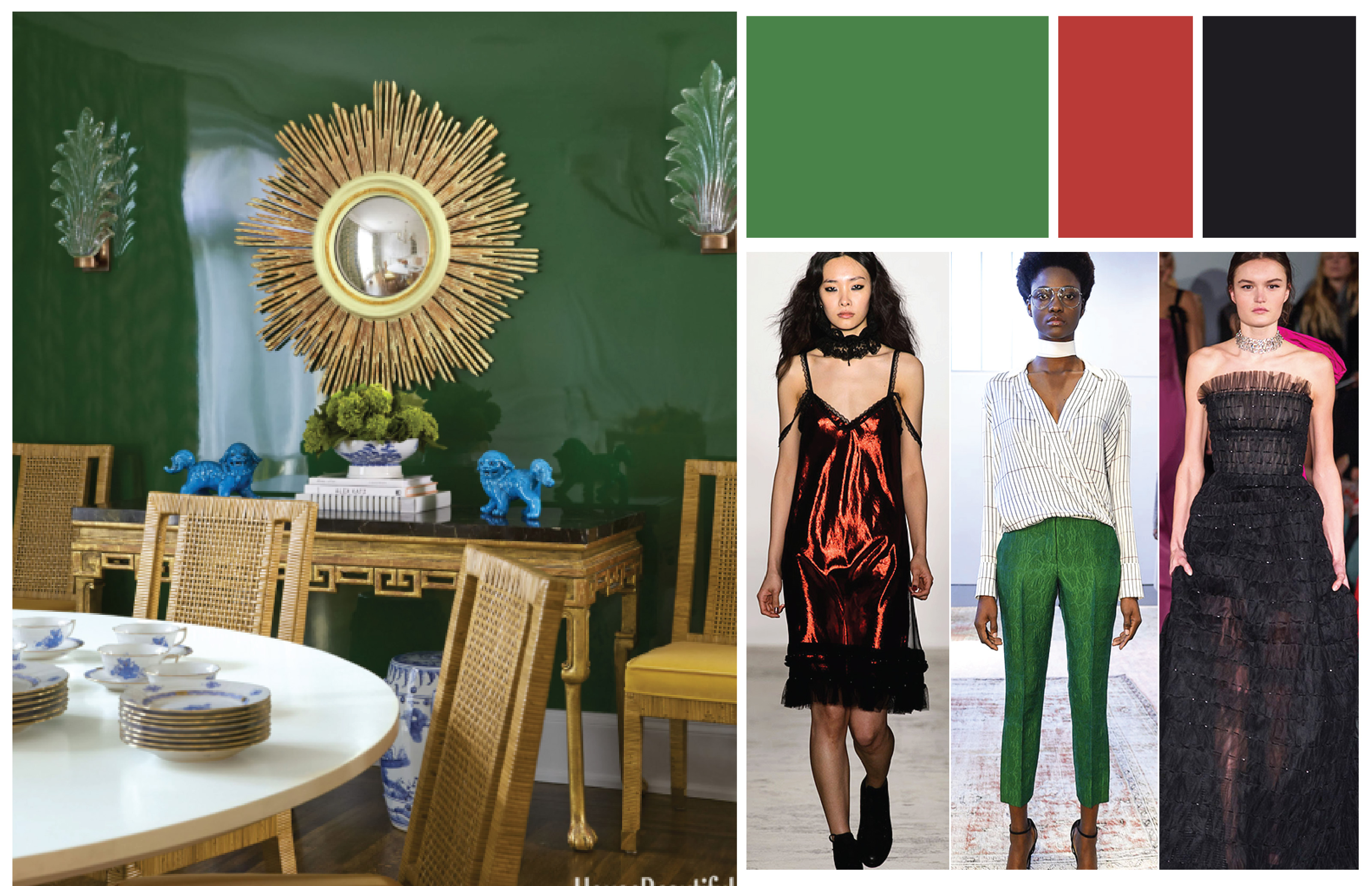 Fall paint color trends emerald