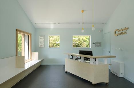 cambridge cat clinic architecture