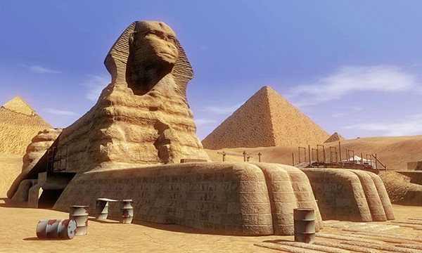 sphinx cat like architecture