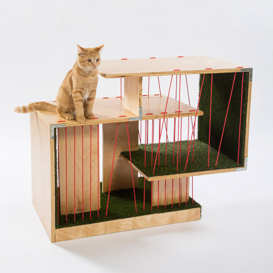 Architects design special cat houses architecture