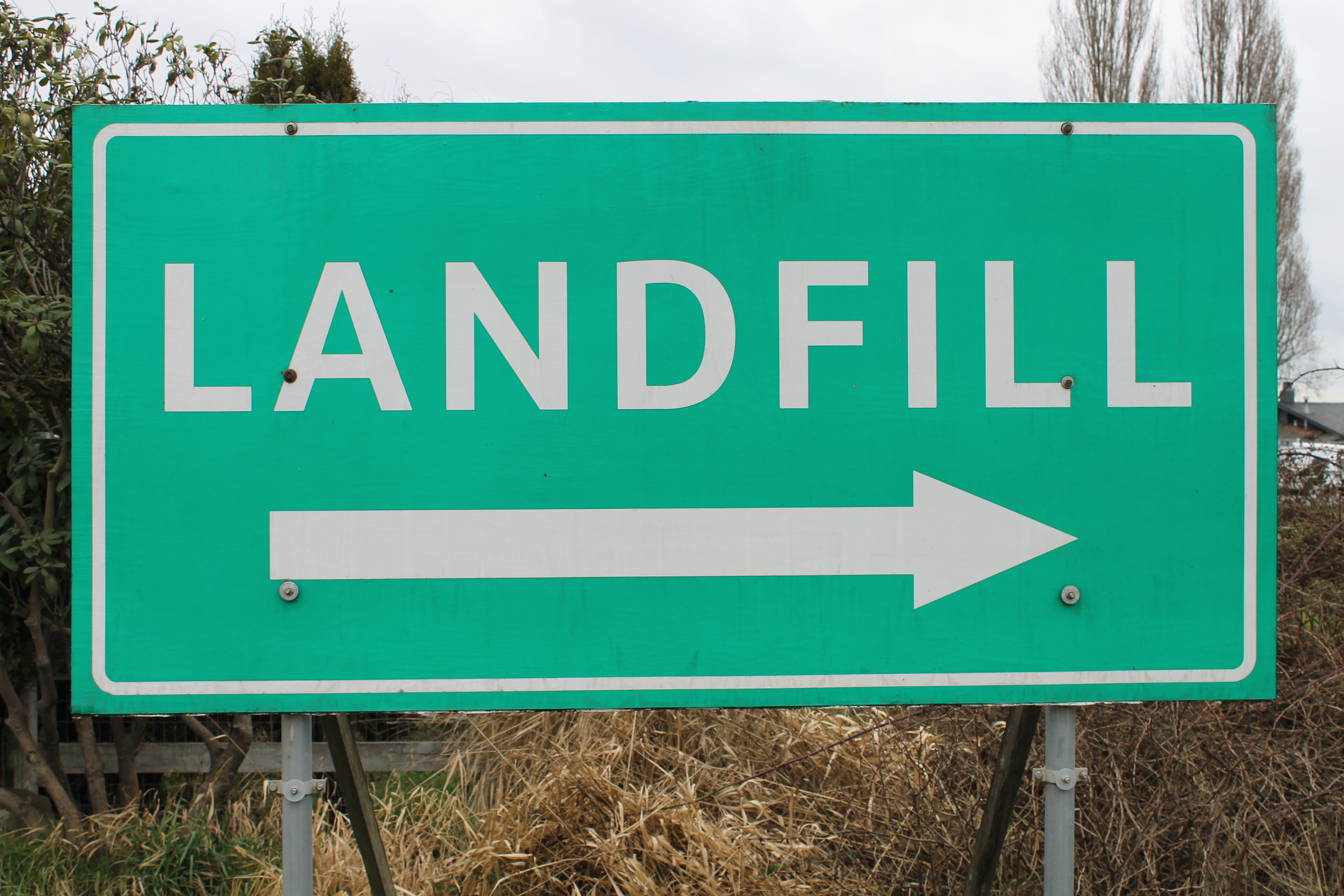 many products end up in landfills