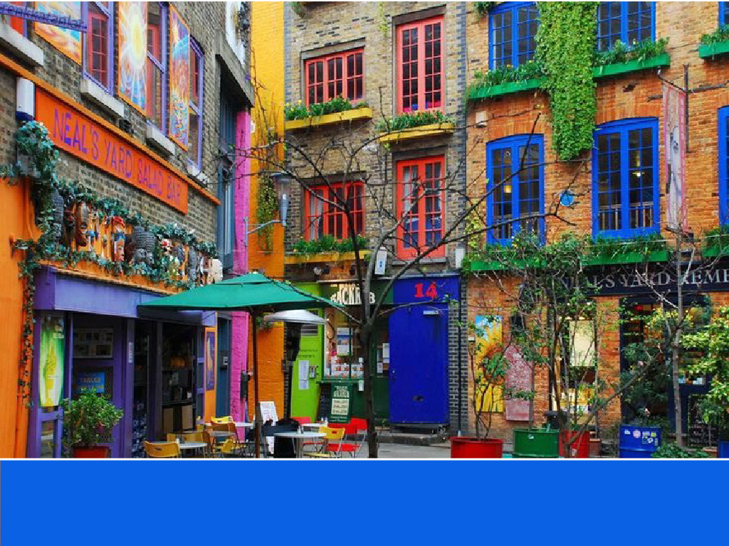 The world's most colorful buildings and colorful interior architecture Neal's Yard