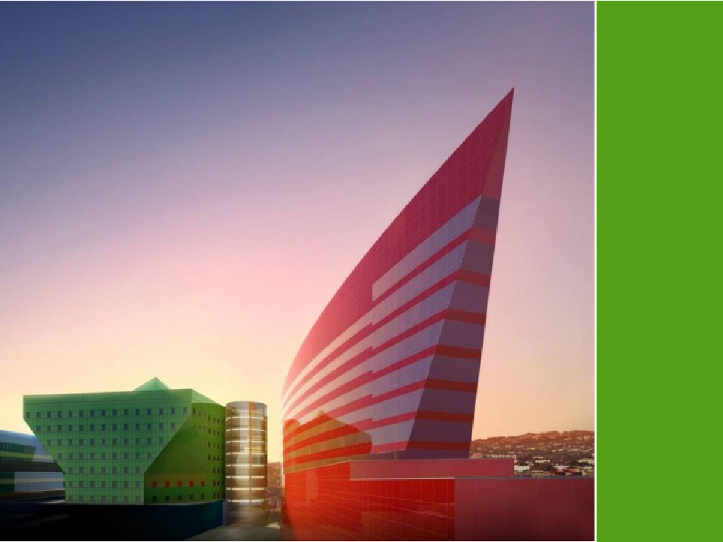 The world's most colorful buildings and colorful interior architecture Pacific Design Center