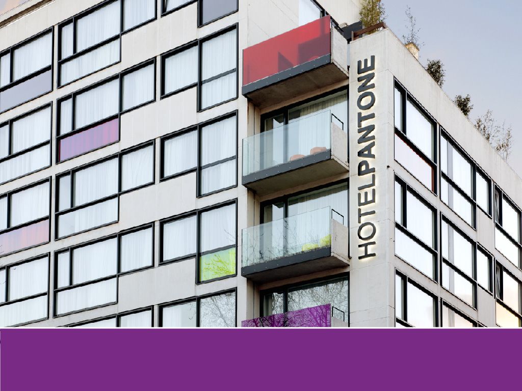 The world's most colorful buildings and colorful interior architecture Pantone Hotel