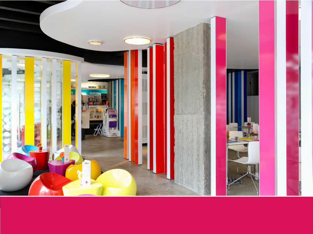Pantone Hotel The world's most colorful buildings and colorful interior architecture