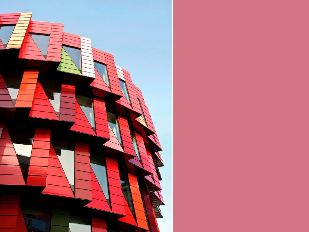 The world's most colorful buildings and colorful interior architecture Kuggen Building